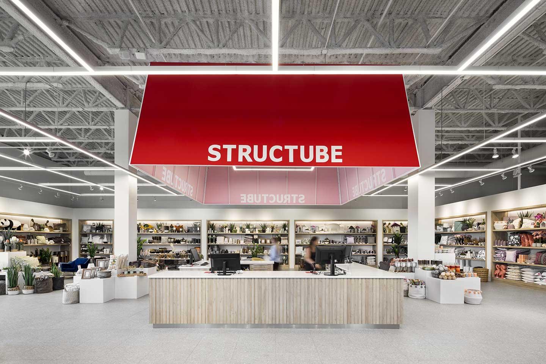 Structube, distribution center